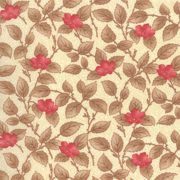 Lario by Moda - Leafy Blooms - Ivory