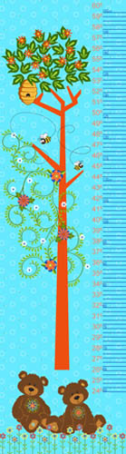 Mystic Forest by Fabri-Quilt - Height Chart
