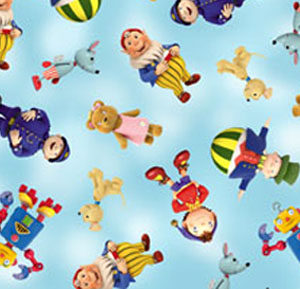 Noddy - Noddy & Friends - Toyland Friends on Blue