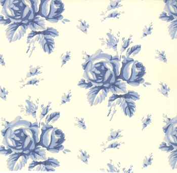 Northcote Range Moda Fabric Bainbridge Cream/Blue