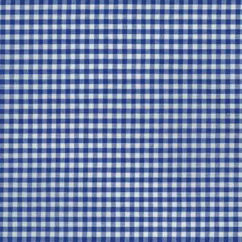 Carolina Gingham Collection by Robert Kaufman - Royal 1/8