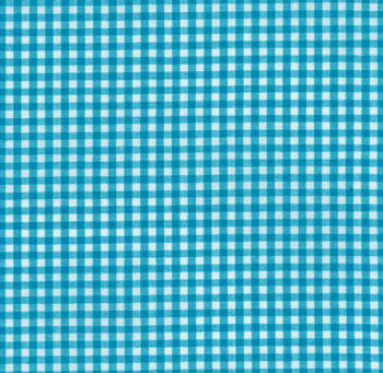 Carolina Gingham Collection by Robert Kaufman - Turquoise 1/8
