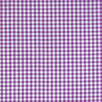 Carolina Gingham Collection by Robert Kaufman - Purple 1/8
