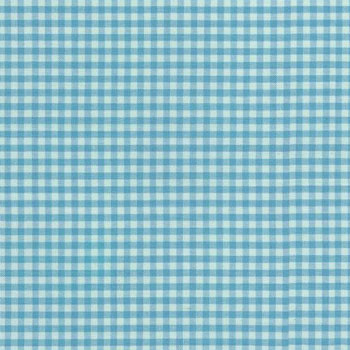 Carolina Gingham Collection by Robert Kaufman - Pond 1/8
