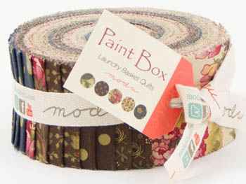 Paint Box Prints by Laundry Basket Quilts for Moda - Jelly Roll