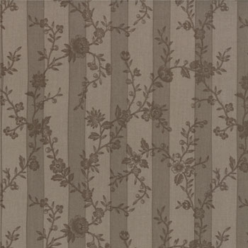 Papillon by Moda Fabrics - Botanical Stripe Stone