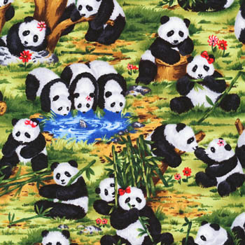 Peter Panda by Fabri-Quilt - Scenic