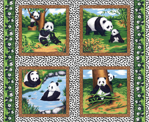 Peter Panda by Fabri-Quilt - Panel
