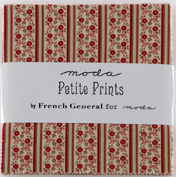 Petite Prints by French General for Moda - Charm Squares