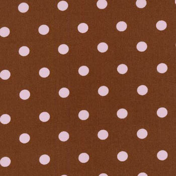 Pimatex Basic by Robert Kaufman - Spots on Chocolate