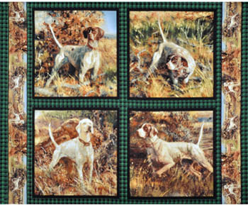 Point North by Springs - Set of 4 Cushion Panels
