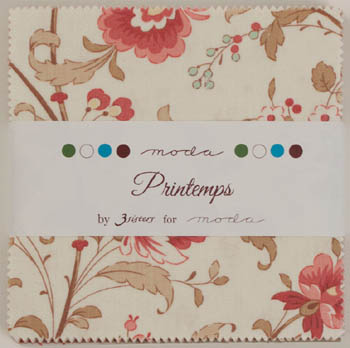 Printemps by 3 Sisters for Moda - Charm Squares