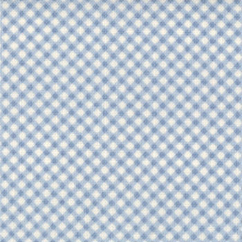 Puttin' on the Ritz by Moda Fabrics - Gingham Light Blue