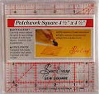 Quilting/Patchwork Ruler Square 4-1/2x4-1/2in NL4176