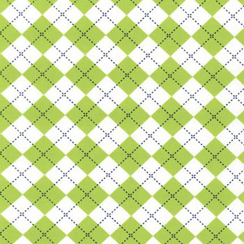 Urban Zoologie Remix Lime by Robert Kaufman - Plaid