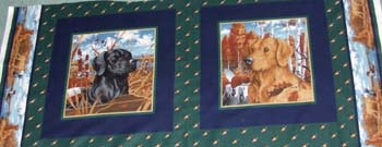 Retrievers by VIP Cranston - Set of 2 panels
