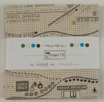 Road 15 by Sweetwater for Moda - Charm Squares