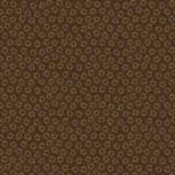 Fuji Afternoon by Springs - Dotted Packed Floral - Brown