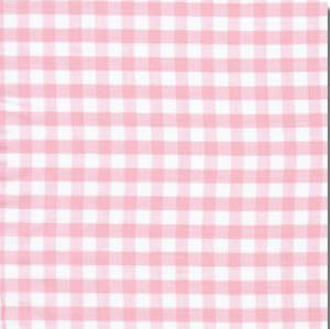 Sevenberry Gingham Collection - Pink 1/4 Check