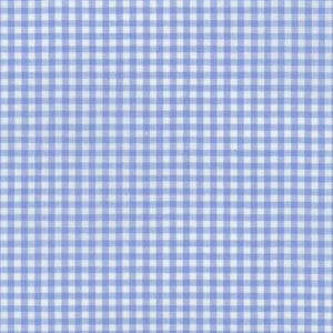 Sevenberry Gingham Collection - Light Blue 1/8 Check