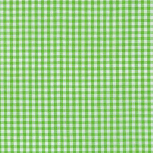 Sevenberry Gingham Collection - Lime Green 1/8 Check