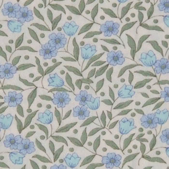Sevenberry Fabrics 6100 - Small Blue Floral
