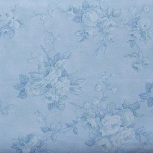 Simply Irresistible Blue Roses On Blue Robyn Pandolph