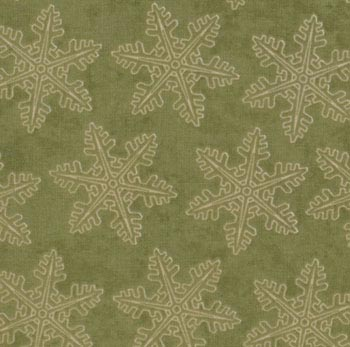 Frosted Memories by Moda Fabric - Snowflakes Winter Pine