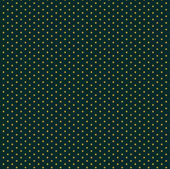 Christmas Allovers by VIP Cranston - Metallic Dot - Forest Green