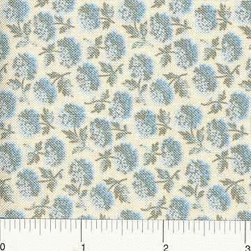 Spring Fling by Ro Gregg for Northcott Small Blue Floral
