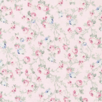Spring Romance by Fabri-Quilt - Floral Vine Pink