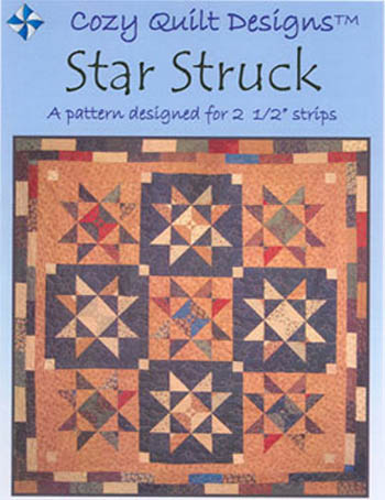 Cozy Quilt Designs Strip Club Pattern - Star Struck
