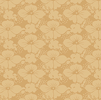 Victorian Nursery Peter Rabbit - Floral Tonal Tan