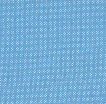 Tea Time by Makower Fabrics - Polka Dot on Blue