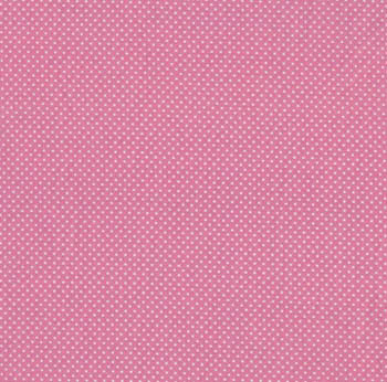 Tea Time by Makower Fabrics - Polka Dot on Pink
