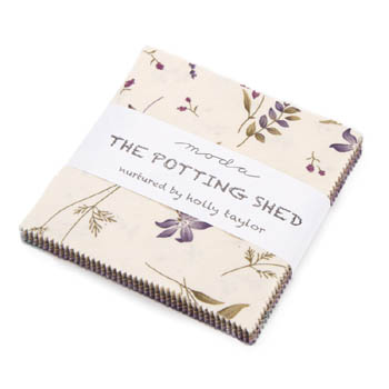 The Potting Shed by Holly Taylor for Moda - Charm Squares
