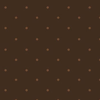 Tranquility by Benartex - Pin Dot Chocolate