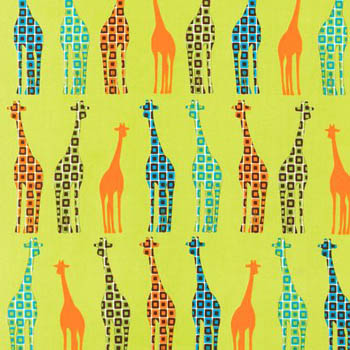 Urban Circus Earth by Robert Kaufman - Giraffes