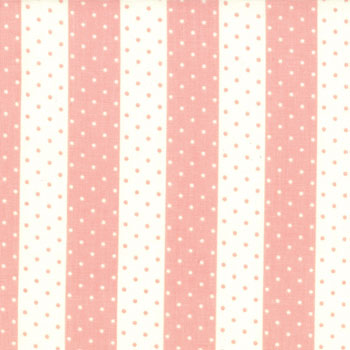 Vintage Modern by Moda - Dot Stripe Melon - 20CMS
