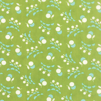Vintage Picnic by Moda - Smitten Light Green