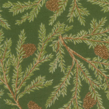 Winter Song by Moda Fabrics Greenery Forest