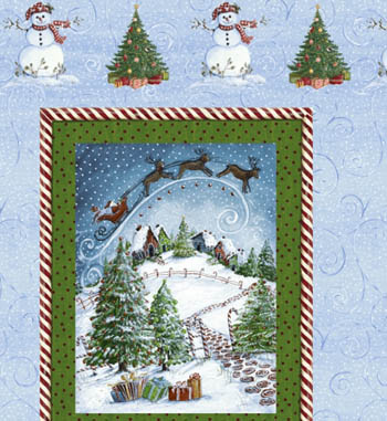 Winter Wonderland by Windham Fabrics - Panel - SHORT CUT