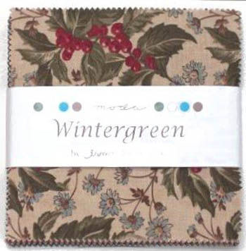 Wintergreen by 3 Sisters for Moda - Charm Squares
