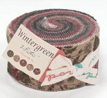 Wintergreen by 3 Sisters for Moda - Jelly Roll