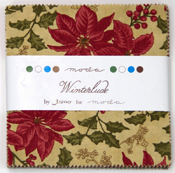 Winterlude by 3 Sisters for Moda - Charm Squares