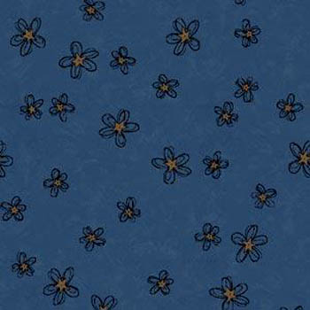 Buggy Barn Bloomers - Flowers on Blue