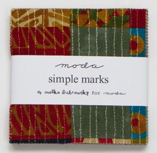 Simple Marks by Moda Fabric Charm Squares