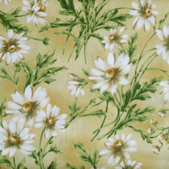He Loves Me 11 by Maywood Studios - Daisies on Yellow