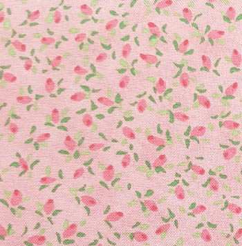 Fuzzytail Kittens & Pups - Rosebuds On Pink