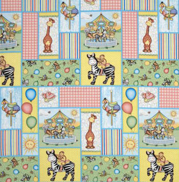 Bazooples Carousel by Springs - Carousel Patch